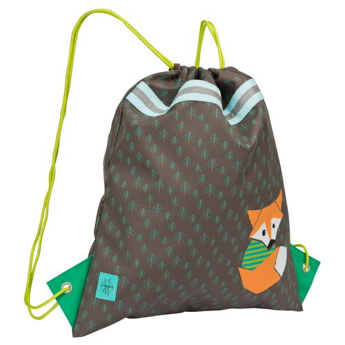 Lässig 4Kids Mini String Bag / Turnbeutel, Kollektion 2018 - Little Tree Fox