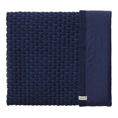 Joolz Essentials Honeycomb Decke 75x100cm - Blue