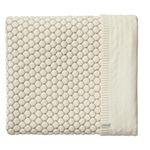 Joolz Essentials Honeycomb Decke 75x100cm - Off White