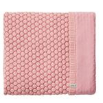 Joolz Essentials Honeycomb Blanket 75x100cm - Pink