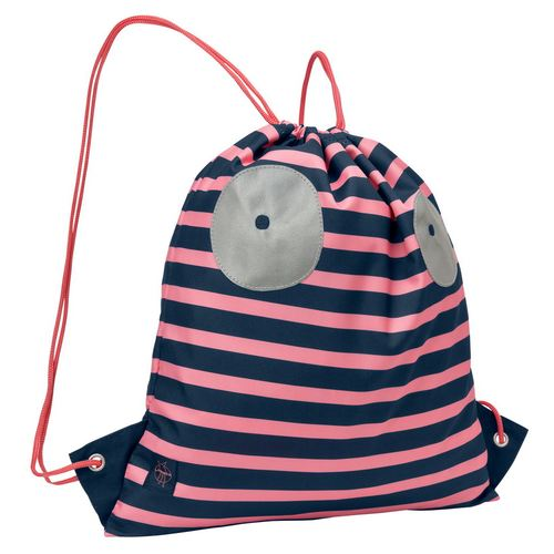 Lässig 4Kids Mini String Bag / Turnbeutel, Kollektion 2018 - Little Monsters Mad Mabel
