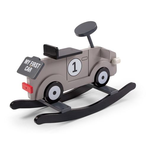 Childhome Schaukelauto My First Car - Grau