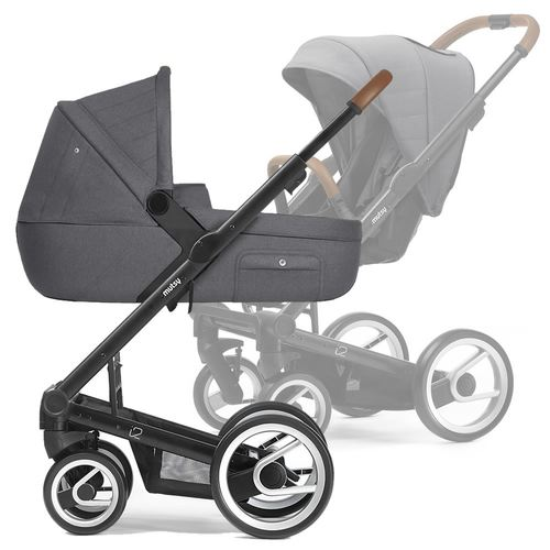 Mutsy i2 Multifunctionstroller with black frame, Collection 2019 -