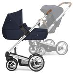 Mutsy i2 Multifunctionstroller with silver frame,...