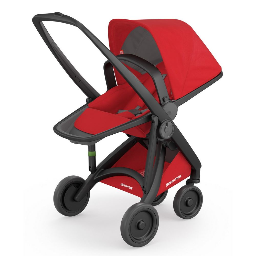 Greentom Reversible Buggy, Kollektion 2018 - Black Red