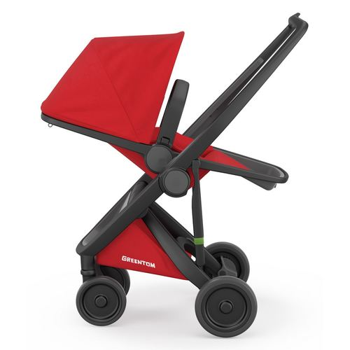 Greentom Reversible Buggy, Collection 2018 - Black Red