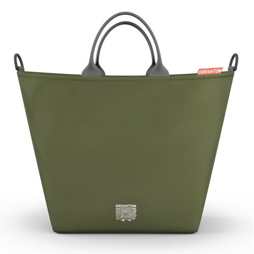 Greentom Shopping Bag, Collection 2018 - Olive