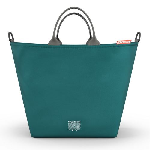 Greentom Shopping Bag, Collection 2018 - Teal