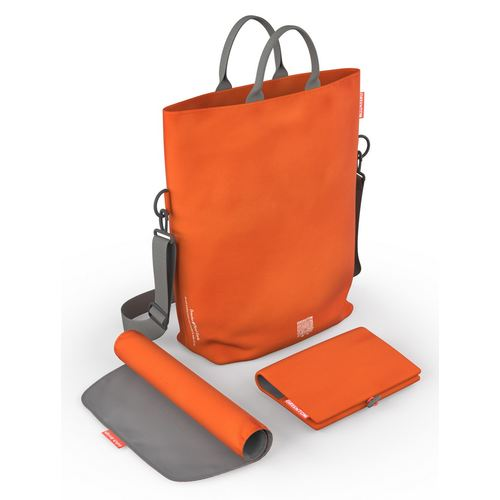 Greentom Wickeltasche, Kollektion 2018 - Orange