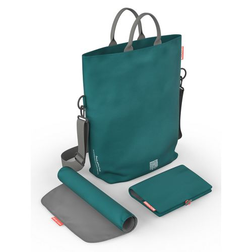 Greentom Wickeltasche, Kollektion 2018 - Teal