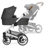 Mutsy Nio Multifunction-Stroller with silver frame,...