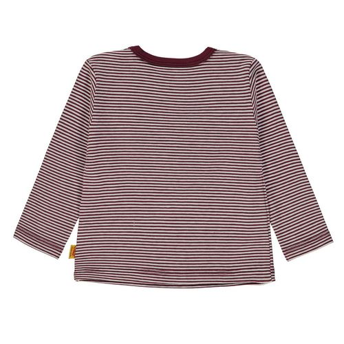 Steiff T-Shirt 1/1 Arm, Größe: 68 - Burgundy / Red