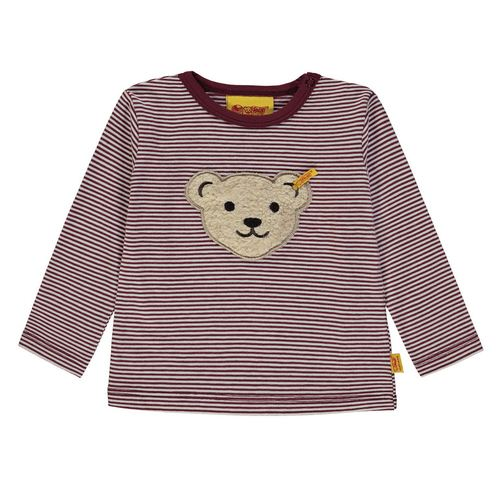 Steiff T-Shirt 1/1 Arm, Größe: 74 - Burgundy / Red