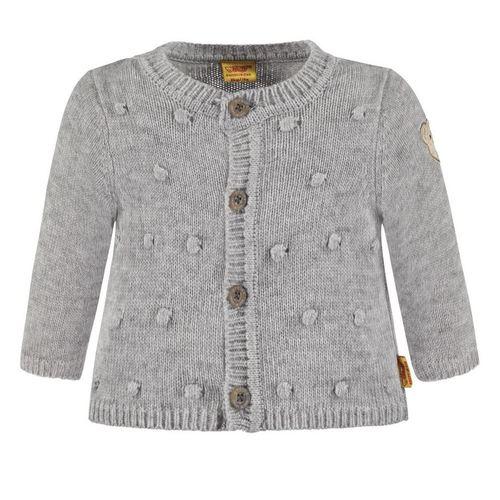b5fad96a1a Steiff Strickjacke Mädchen grau, mehrere Größen günstig online kaufen