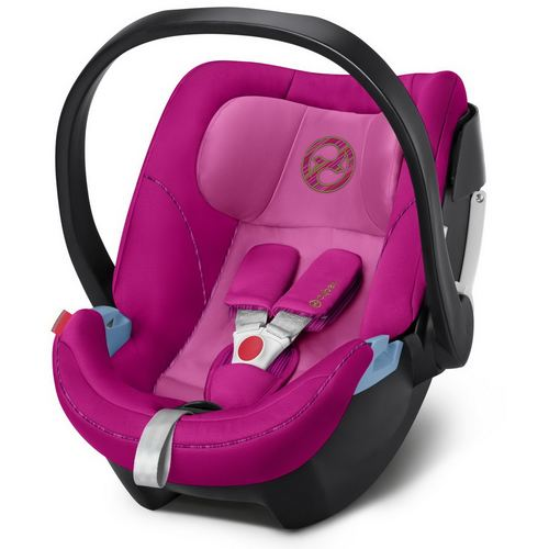 Cybex Aton 5 Gold, Kollektion 2019 - Fancy Pink Purple