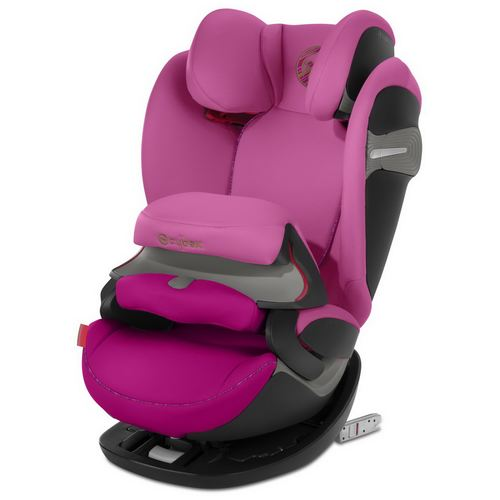 Cybex Pallas S-Fix Gold, Kollektion 2019 - Fancy Pink Purple