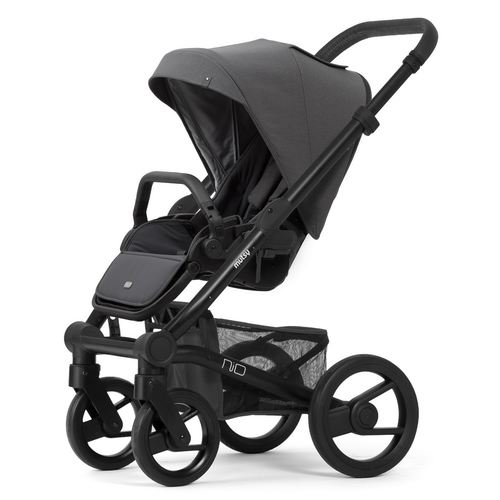 Mutsy Nio Stroller with black frame, Collection 2019 -