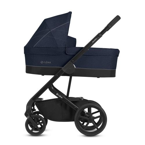 Cybex Balios S Gold + Cot S Set, Kollektion 2019 - Denim Blue