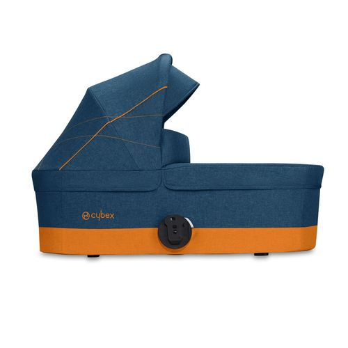 Cybex Balios S Gold + Cot S Set, Kollektion 2019 - Tropical Blue / Navy Blue