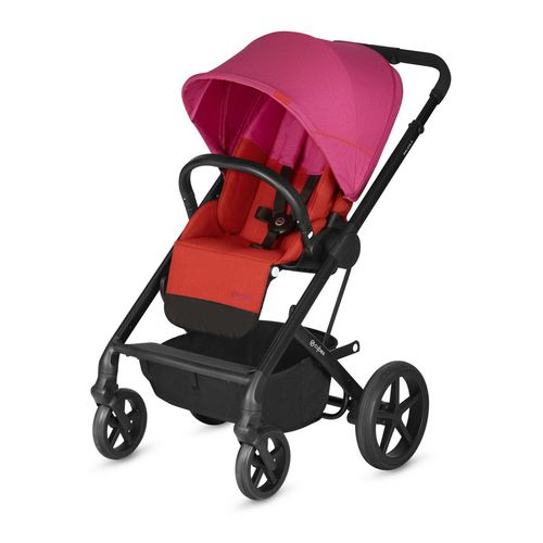 Cybex Balios S Gold + Cot S Set, Kollektion 2019 - Fancy Pink / Purple