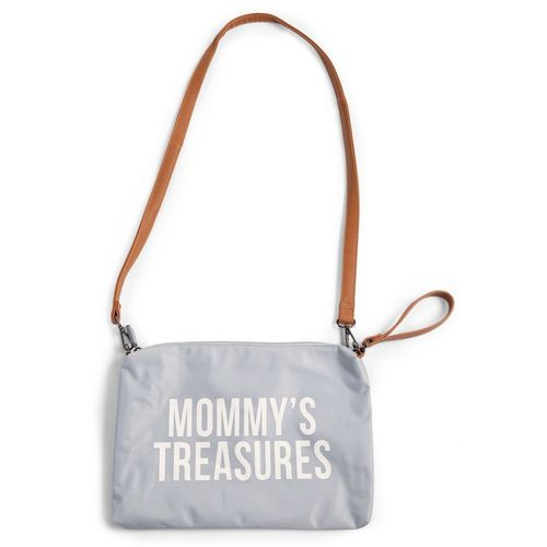 Childhome Mommy Clutch - Grey Off White