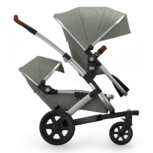 Joolz Geo2 Earth Twin/Duo  Zwillings- oder  Geschwisterwagen - 2019 Elefant Grey